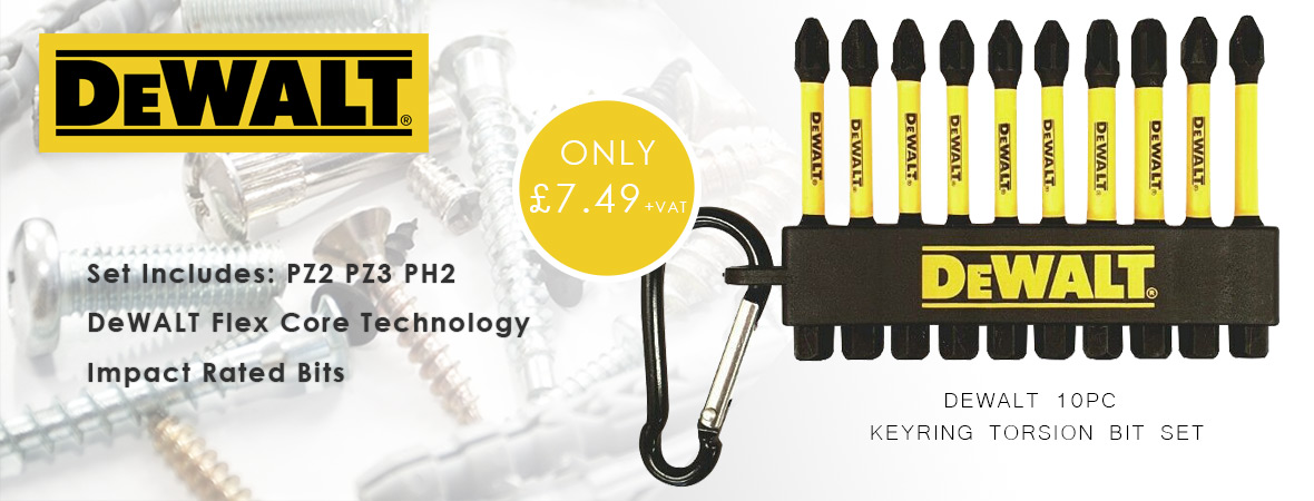 DeWALT Keyring Torsion Set