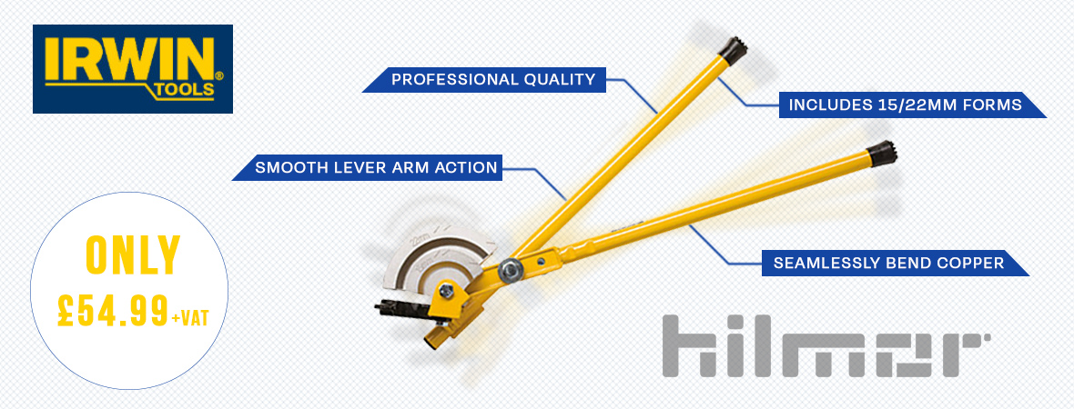 IRWIN Hilmor Pipe Bender Offer