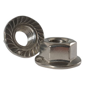 Serrated Flanged Nuts