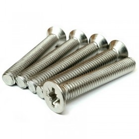 Pozi Countersunk Machine Screw A2 Stainless Steel
