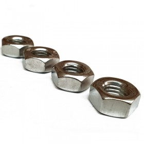 UNC Full Nut A4 Stainless Steel
