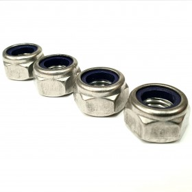 UNC Nyloc Nut A2 Stainless Steel