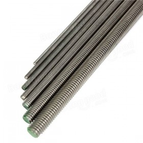 M10 x 1000mm Threaded Bar A2 Stainless Steel