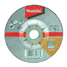 Makita B-21107 Inox Grinding Wheel 100mm x 6mm x 16mm