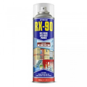 Action Can RX-90 Red-oxide Priming Spray 500ml