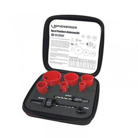 Rothenberger 114202 Plumbers hole saw Kit 19/57mm