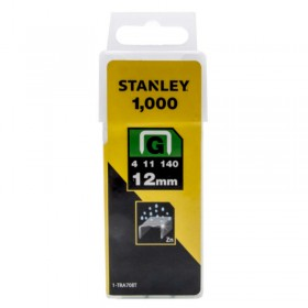 Stanley 1-TRA708T Type G Heavy Duty Staples 12mm 1000pc