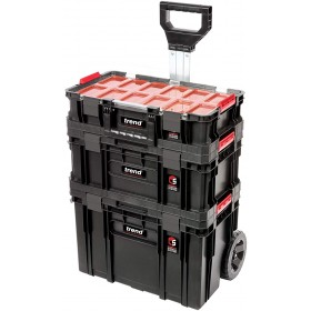 Trend MS/C/SET3 3pc Stackable Wheeled Tool Box