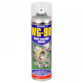 Action Can WG-90 White Calcium Grease Spray