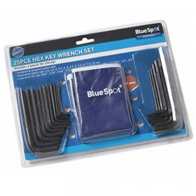 BlueSpot 15307 25pc Hex Key Set