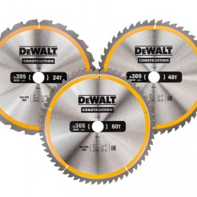DeWALT DT1964 Construction Circular Saw Blades 305mm x 30mm x 24/48/60T