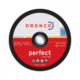 Dronco 3116040 A30T-BF Grinding Disc 115mm x 6mm x 22.23mm