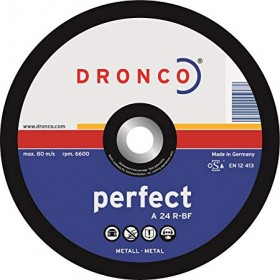 Dronco 1120015 A24R-BF Metal Cutting Disc 115mm x 3mm x 22.23mm