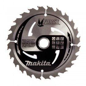 Makita M-Force Circular Saw Blade 165mm x 20mm x 24T