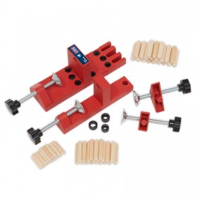 Sealey DJ01 Universal Dowelling Jig Set