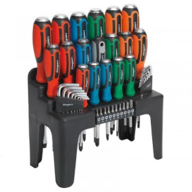 Siegen Hammer-Thru 44pc Screwdriver Set