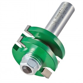 """Trend C158X1/2TC 1/2"""" Guided Tongue & Groover Router Cutter 41mm"""